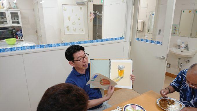 中村達志先生が来てくれることになりました。